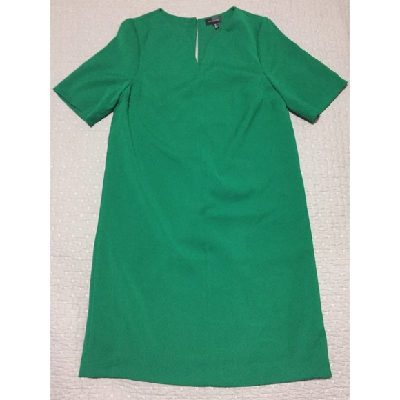 000339d525130 Green Short Sleeve Dress - The Limited - TALL SIZE